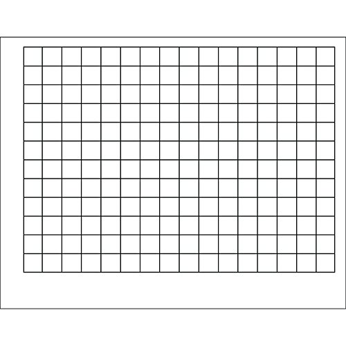(TREND enterprises, Inc. Graphing Grid (1 1/2