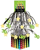 Best Creative Converting Capes - Metallic Foil Cascading Centerpiece, Great Birthday 30th Review
