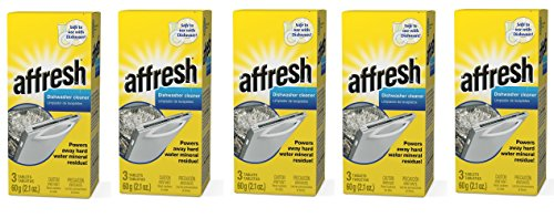 Affresh W10549850 Dishwasher Cleaner RFxjmS, 15 Tablets in Carton by Affresh