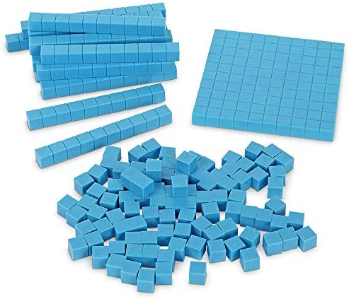 Learning Resources Base Ten Blocks Smart Pack Early Childhood Math Skills Ages 5+