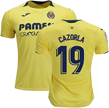2018-2019 Villarreal Joma Home Football Soccer T-Shirt Camiseta (Santi Cazorla 19): Amazon.es: Deportes y aire libre
