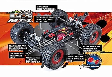 Buy Thunder Tiger 6401 F112 Mt4 G3 Ep Brushless 2 4g 1 8 Scale