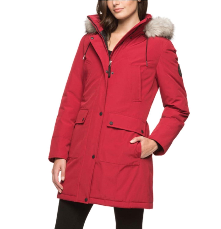 Amazon.com: Andrew Marc Ladies Parka: Clothing