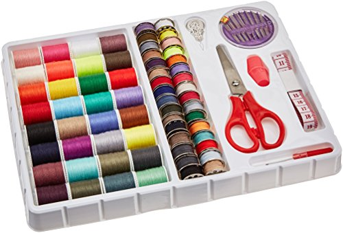 MICHLEY FS092 Lil 100-Piece Sewing Kit, 1.00 x 8.00 x 9.80 inches, Multi (Michley Lil Sew & Sew Mini Sewing Machine)