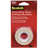 3M Indoor Window Film Mounting Tape, .5-Inch x 13.8-Yard, Clear, 1 Roll/Pack