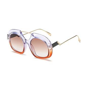 AOLVO Gafas de Sol Circulares para jóvenes irrompibles ...
