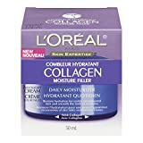 L'Oreal Paris Collagen Moisture Filler Facial Day/Night Cream, All Skin Types 1.7 oz