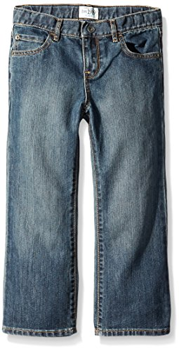 The Children's Place Husky Boys Bootcut Jeans, Dust Bowl, 6 Husky