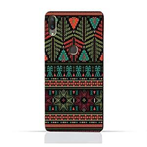 AMC Design Ethnic Grunge Neon Pattern Printed Protective Case for Vivo X21 - Multi Color