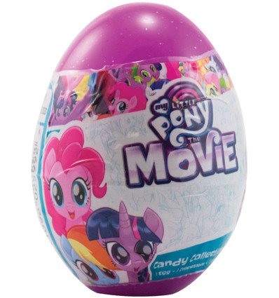 My Little Pony Collection Egg 10g x 18 (My Little Pony Chocolate Eggs)