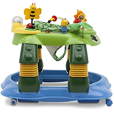 Delta Children Mason The Turtle Lil' Play Station 3-in-1 Activity Walker : Baby
