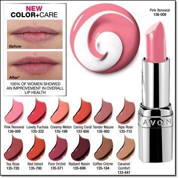 Treatment Avon Moisturizing Lip (Avon Ultra Color Absolute (Pink Renewal))