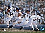 Nolan Ryan Texas Rangers Multi-Exposure 8x10 Photo