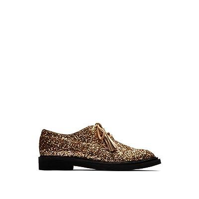 Kenneth Cole New York Women's Annie Menswear Style Oxford Glitter | Oxfords