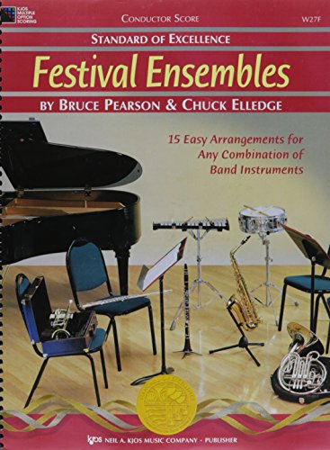 Excellence Festival Ensembles - W27F - Standard Of Excellence - Festival Ensembles - Conductor Score
