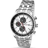 Sekonda Men's Chronograph Watch With Stainless Steel Bracelet 1048
