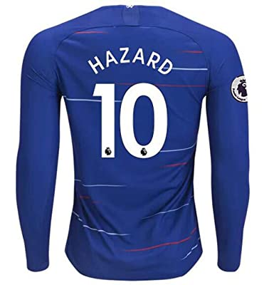 Amazon.com: Aizer Do Chelsea 2018-2019 Temporada # 10 Hazard ...