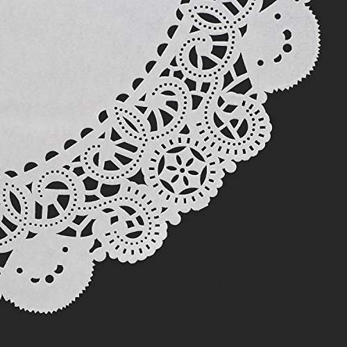 Royal 6'' Disposable Paper Lace Doilies, Package 1000 by Royal (Image #2)