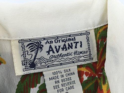 (アバンティシャツ)Avantishirts/ハワイアンアロハシャツ (ボーイズパームス)Boy`sPalmsWhite(M)