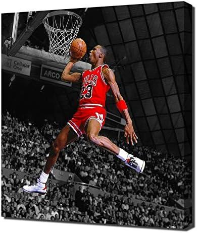 principal Minúsculo Publicación  Lilarama Michael Jordan Fondo Blanco y Negro – Pop Art Home Decor – Lienzo  Art Print – Arte de Pared – Envoltorio de Lienzo: Amazon.es: Hogar