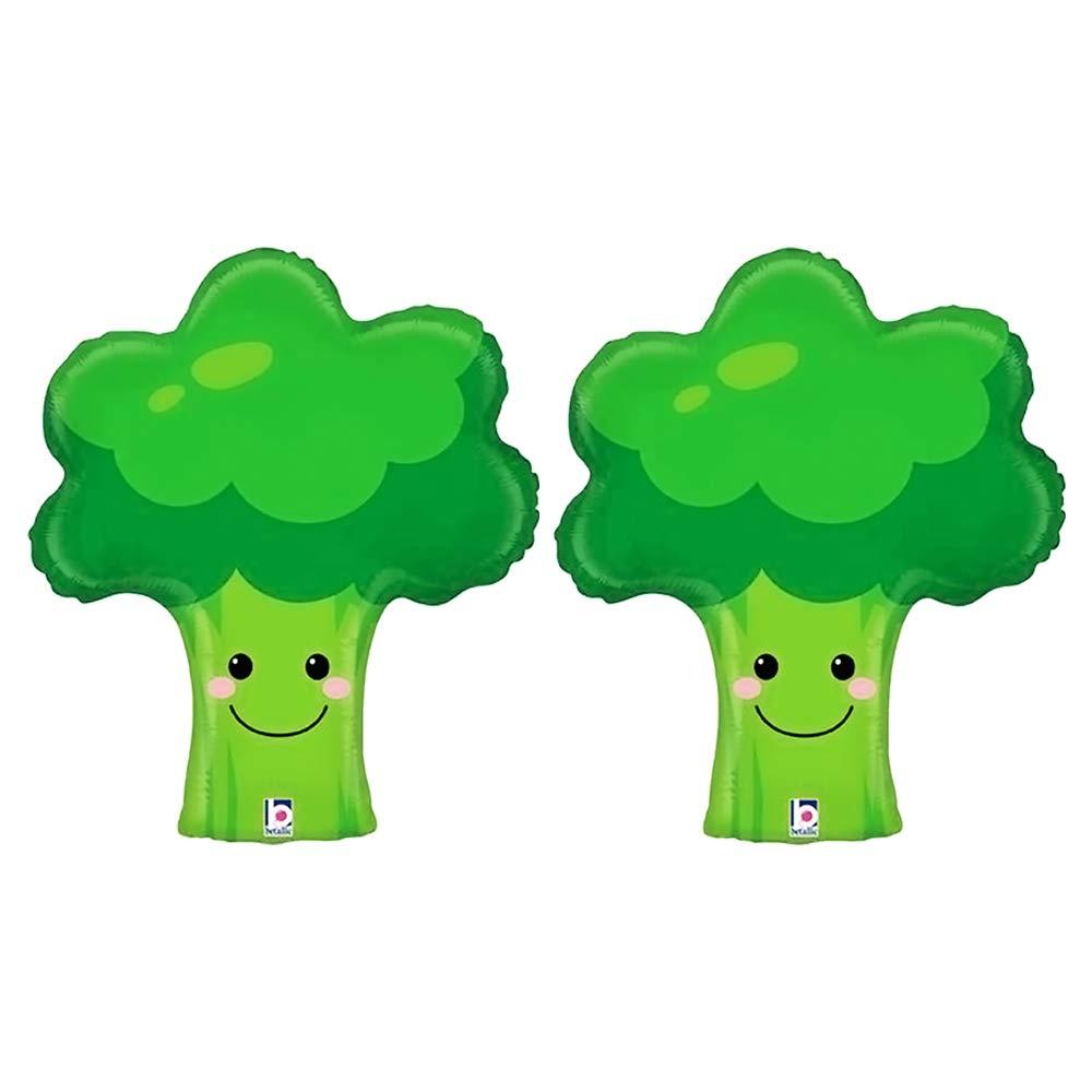 Produce Pal Broccoli Vegetable Garden Jumbo 26 Foil Party Balloon 2