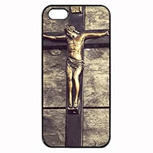 Jesus Cross Vintage - Black Case - Custom Personlized Tpu Durable Rubber Silicone Case Cover Skin For iPhone 5 5S