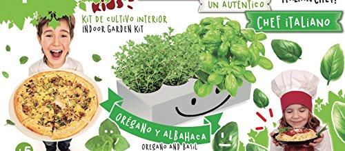 Spice Box.- Kit de cultivo interior, 2 especias: Orégano y ...