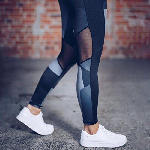 Noir Ladies Longueur La Yoga Skinny Exercice Gym Fitness Leggings Crayon Yoga Pantalon Femmes XL Pantalon Leggings Sports OHQ Toute Long fqHfArw