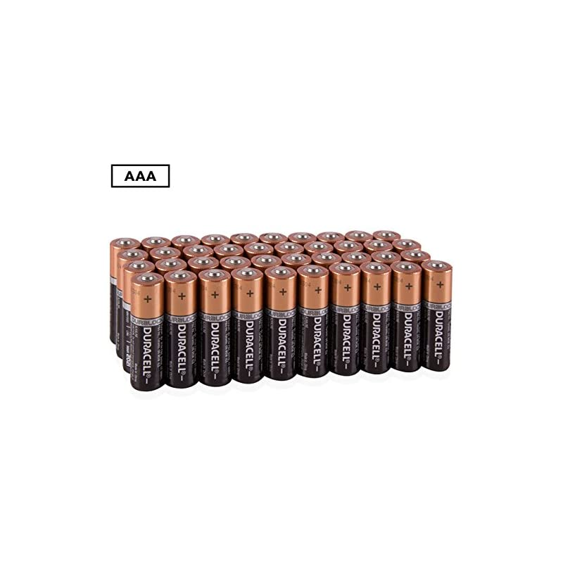 Duracell Coppertop AAA 40 Alkaline Batteries
