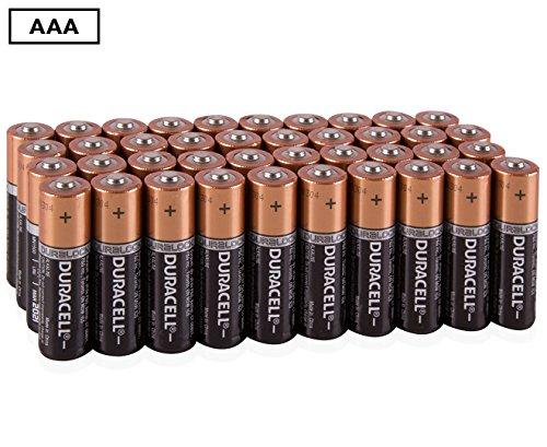 Duracell Coppertop AAA 40 Alkaline Batteries