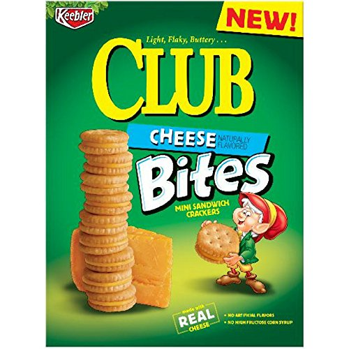 Keebler Club Snack Crackers (Cheese, Pack of 6)