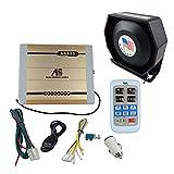 200W 8 Sound Car Warning Alarm Police Fire Siren Horn Ultra Loud Speaker System (Style 1) -  Shenzhen Zhicheng Technology Co., Ltd