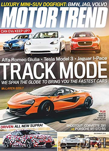 Car And Driver Magazine - Motor Trend