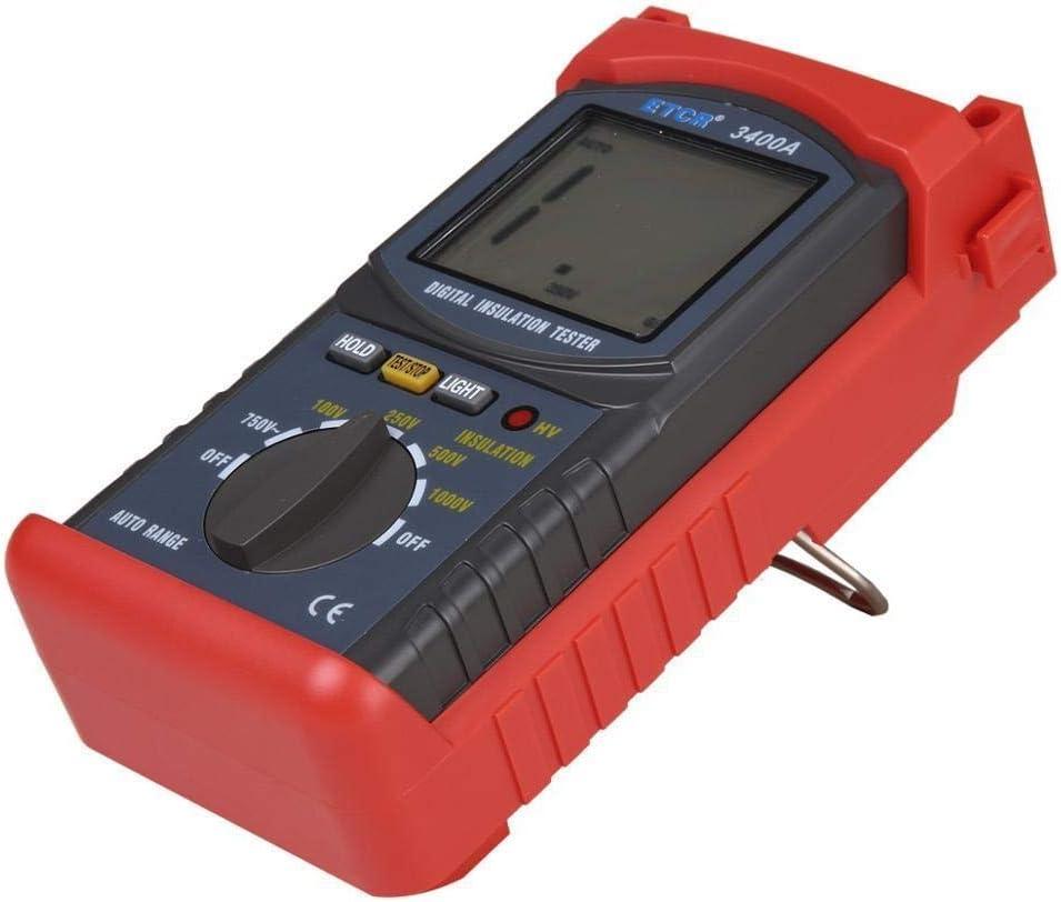FJZ-FJZ ETCR3400C High Voltage 5KV Insulation Resistance Tester Meter Megohmmeter 3/% RDG 5dgt Resistance Tester Ohm Meter