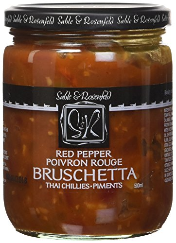 (Sable and Rosenfeld Red Pepper Thai Bruschetta, 16.0 Ounce (Pack of 6))