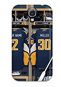 High Impact Dirt/shock Proof Case Cover For Galaxy S4 (buffalo Sabres (11) )