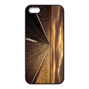 Road iPhone 4 4s Cell Phone Case Black MSY193678AEW