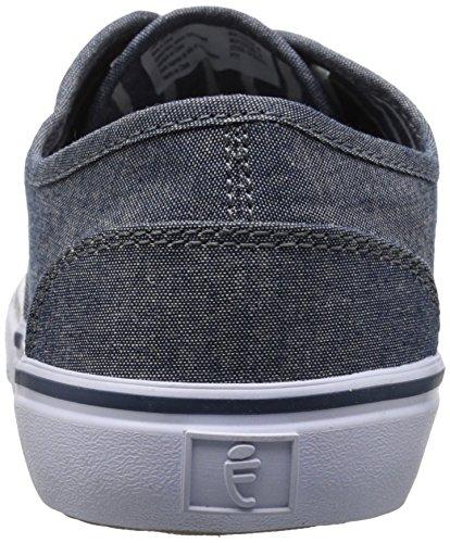 Crevo Menns Kaptein Mote Sneaker Navy Chambray
