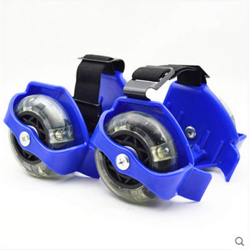 Heel Wheel Roller skatting Shoes,Flashing Roller, Clip on Skates for Kids