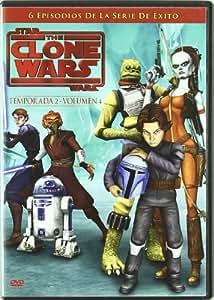 Star Wars The Clone Wars Temporada 2 Volumen 4 [DVD]