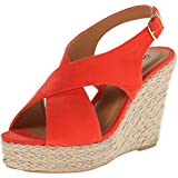 Qupid Women's Cammi-10a Wedge Sandal