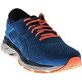 ASICS Men's Gel-Kayano 24 Running Shoe, Directoire Blue/Peacoat/Hot Orange, 12 Medium US