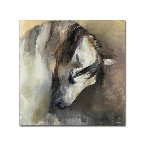 Classical Horse by Marilyn Hageman, 35x35-Inch Canvas Wall - Horse Art Fine