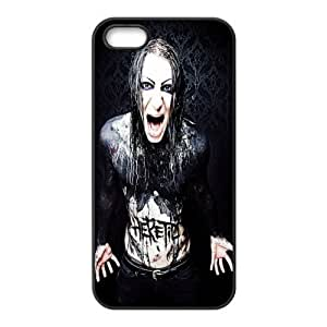 Florida USA Music Band D7 Motionless In White Print Black Case With Hard Shell For SamSung Galaxy S5 Mini Case Cover