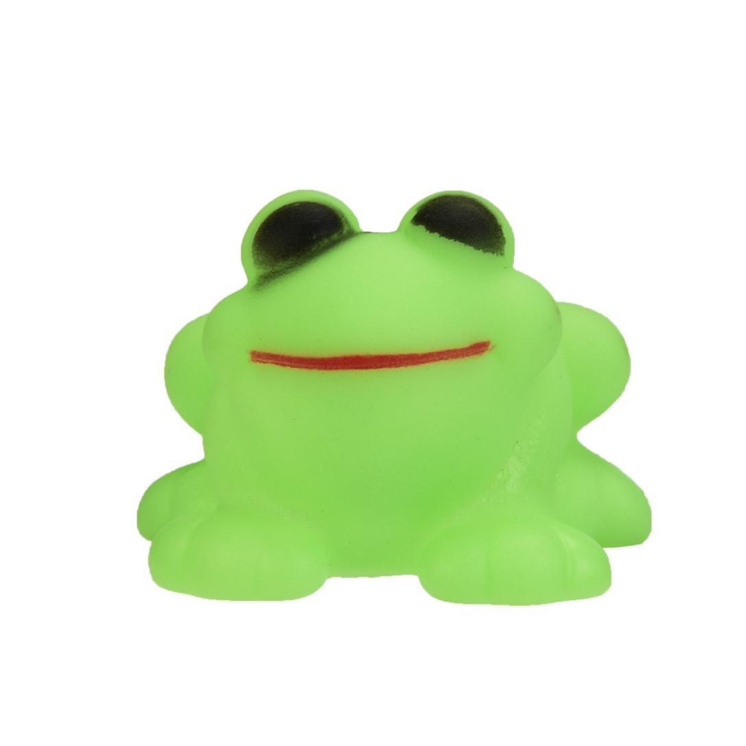 Amazon.com: Kimanli Baby Bath Toy, One Dozen 10 Pieces Rubber Cute ...
