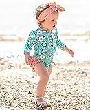 RuffleButts Baby/Toddler Girls Island Dream One