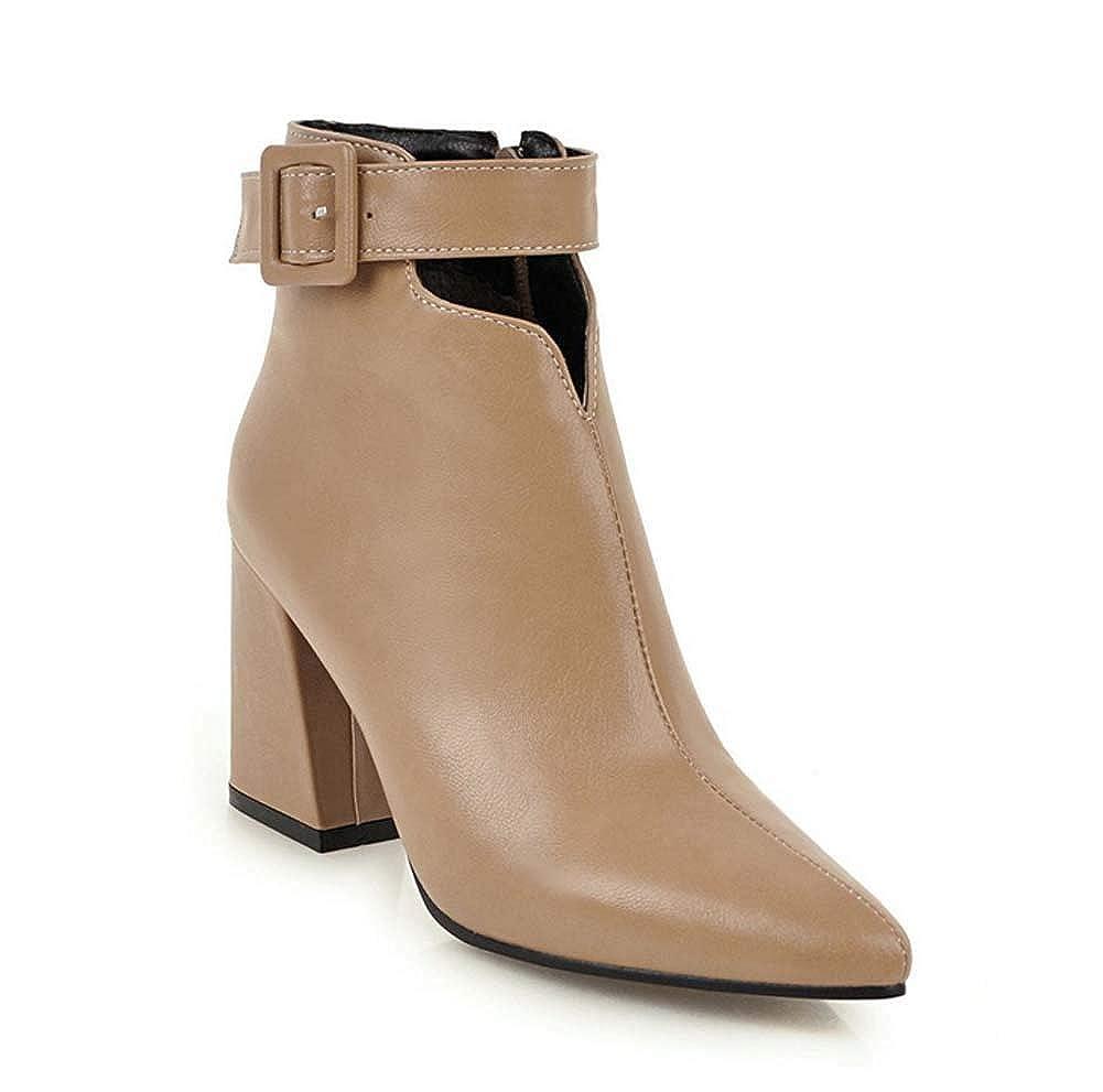 SHINIK Frauen Spitzschuh Stiefelies Herbst Winter Britischen Stil High Heel Party Stiefel