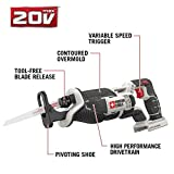PORTER-CABLE 20V MAX Reciprocating Saw, Tool Only