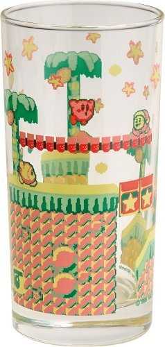 Kirby Super Deluxe 2. highball glass of star