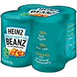 Heinz Reduced Sugar & Salt Baked Beanz in Tomato Sauce (4x415g)